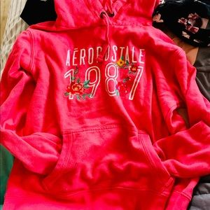 Aeropostale size medium pink hoodie junior